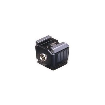 Adaptateur griffe flash 2P