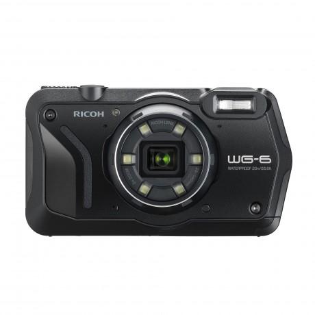Appareil photo compact RICOH WG-6 noir/orange