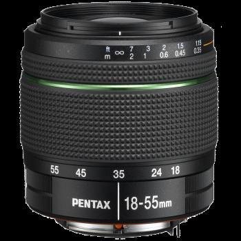 Objectif Pentax DA 18-55mm...